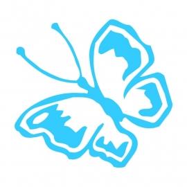 Wandsticker - vlinder