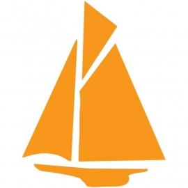 Wandsticker - Zeilboot