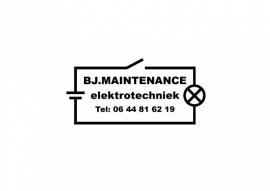 maatwerk auto sticker - BJ Maintenance