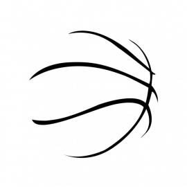 Wandsticker - Basketbal