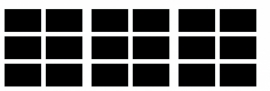 etiketten - krijtbordfolie rechthoek - 1