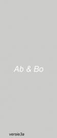 Raamfolie - Ab & Bo