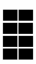 etiketten - krijtbordfolie rechthoek - 2
