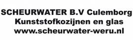 maatwerk autosticker groot - Scheurwater kozijnen