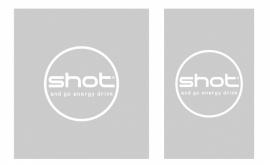 etched glass raamfolie - shotandgo