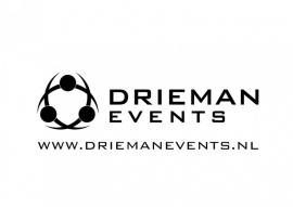 Maatwerk autosticker - Drieman events
