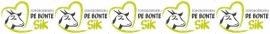 maatwerk full color sticker - zorgboerderij de Bonte Sik