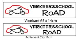 Dakbord - Verkeersschool RoAD