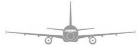 Wandsticker  - vliegtuig 1