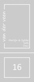 maatwerk raamfolie - Sytske en Martijn
