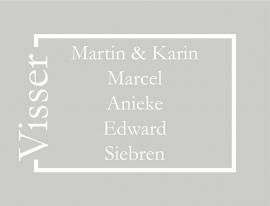 maatwerk raamfolie - K. Visser