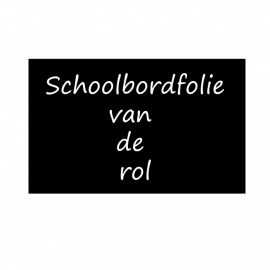 3 stukken schoolbordfolie/krijtbordfolie*