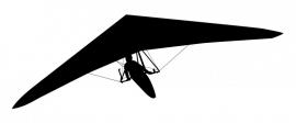 Wandsticker - Deltavlieger