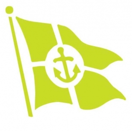 Wandsticker - Vlag