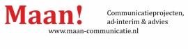 maatwerk autosticker - Maan! communicatie