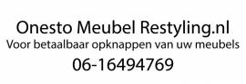 maatwerk autosticker - Onesto meubel restyling