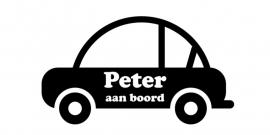 aan boord autosticker - Peter 2