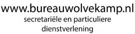 autosticker  - bureau Wolvekamp
