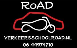 verschillende stickers - aanhanger Verkeersschool RoaD