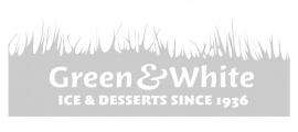 Maatwerk - raamfolie Green & White