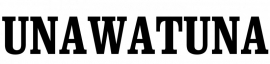 Maatwerk - sticker UNAWATUNA