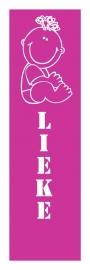 Geboortesticker- Lieke banner