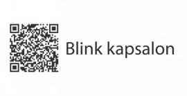 maatwerk - autosticker - Blink kapsalon