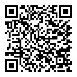 QR code sticker 25cm  * 25cm www.zonnevlechtopleidingen.nl