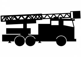 maatwerk sticker - brandweerwagen