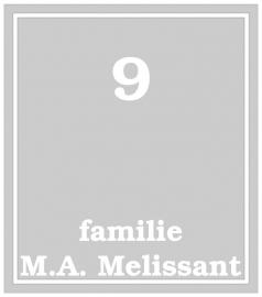 Maatwerk raamfolie - Fam. Melissant