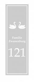 etched glass raamfolie zwanenburg
