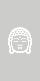 Raamfolie - Buddha (boedha) - 3