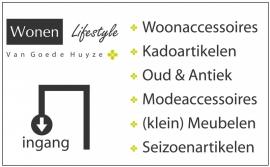 maatwerk stickers - winkel Van Goede Huyze