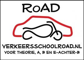 Road rijschool - 4 full color stickers koffer