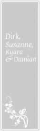 maatwerk raamfolie - Dirk en Susann