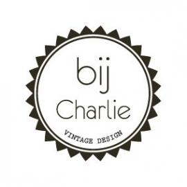 1x sticker Vintage bij Charlie