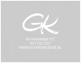 Raamfolie Go-Knowledge ICT