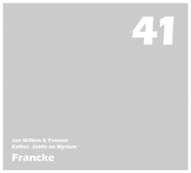 maatwerk raamfolie - Fam. Francke