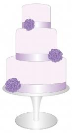 full color Cake-full memories