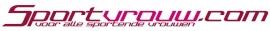 maatwerk autosticker - full color transparant Sportvrouw.com