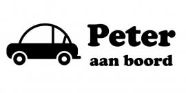 aan boord autosticker - Peter 1
