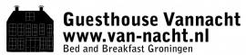 Maatwerk autosticker - Guest House van-nacht.nl
