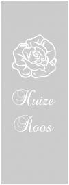 maatwerk raamfolie - Huize Roos