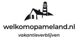 maatwerk - autosticker - klein - Verblijf op Ameland -