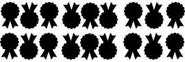 etiketten klein 18 stuks schoolbordsticker/ krijtbordsticker