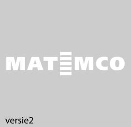maatwerk raamfolie - Matemco
