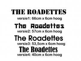 maatwerk strijktekst - Roadettes