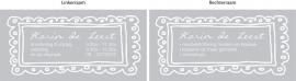 maatwerk sticker - Karin de Leest Meubelstoffering