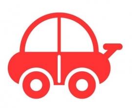 Wandsticker - Kleine auto