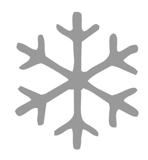 ijsvlok sticker 2